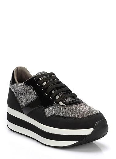 Dolgu Tabanlı Sneaker Ayakkabı-İnci
